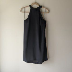 CeCe Black Dress with Bow Detail